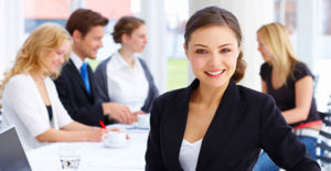 portret kobiety business woman
